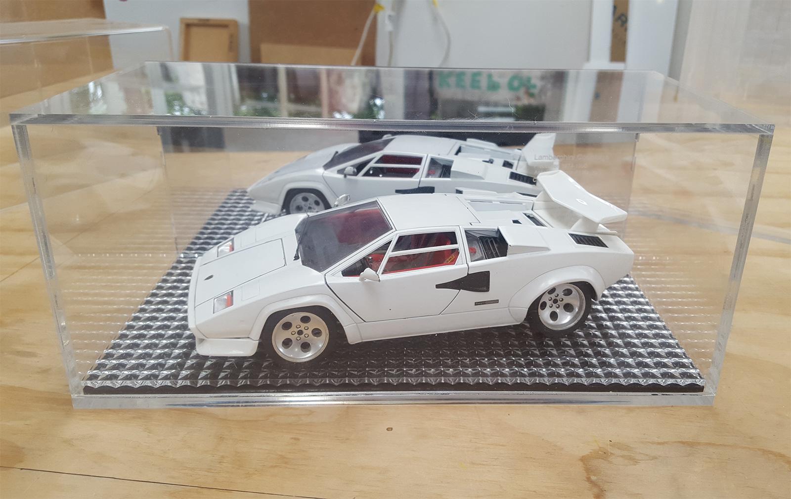 display case for model car
