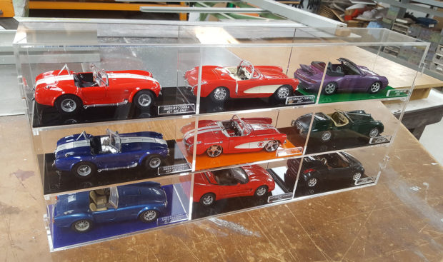 display case for diecast model cars