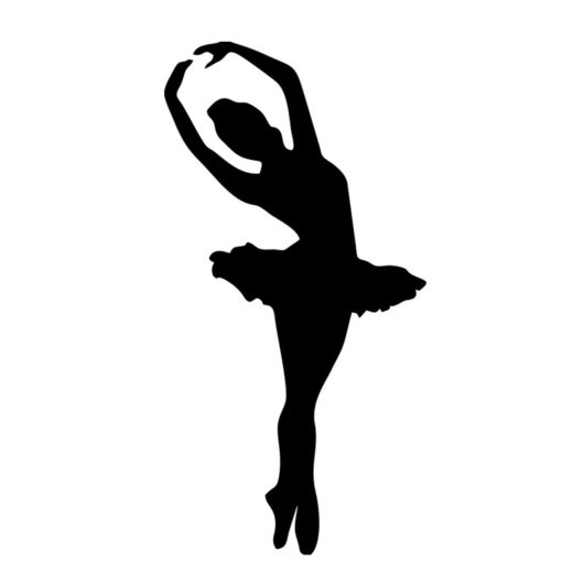 ballerina wall art