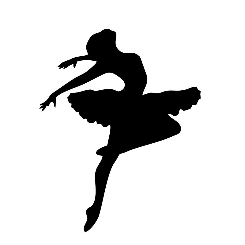 балерина картинка для вырезания цветная