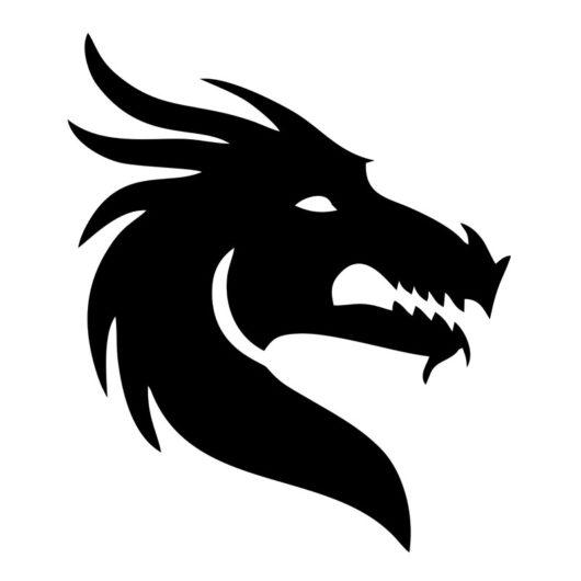 dragon wall art
