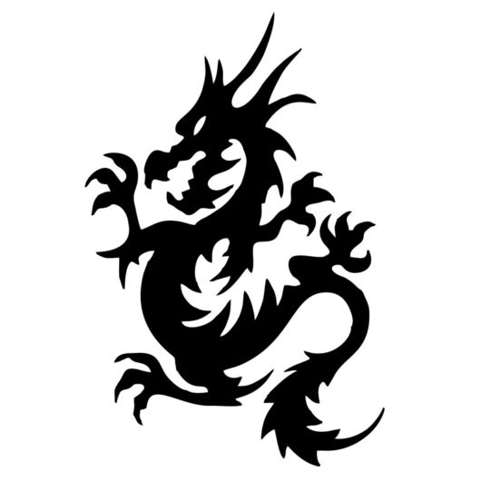 dragon wall art
