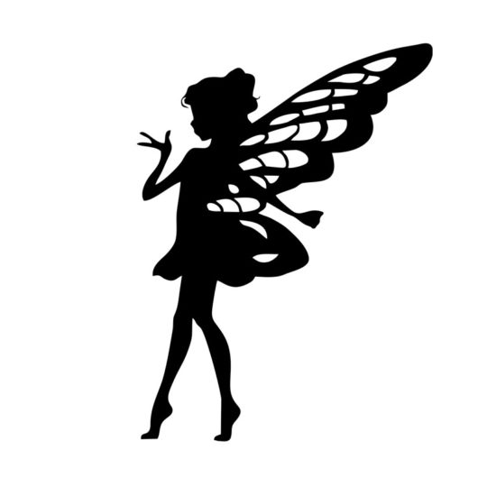wall art acrylic fairy