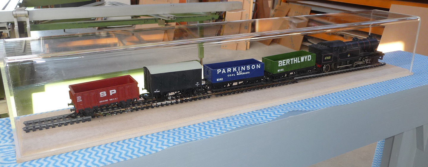 Train Display Case