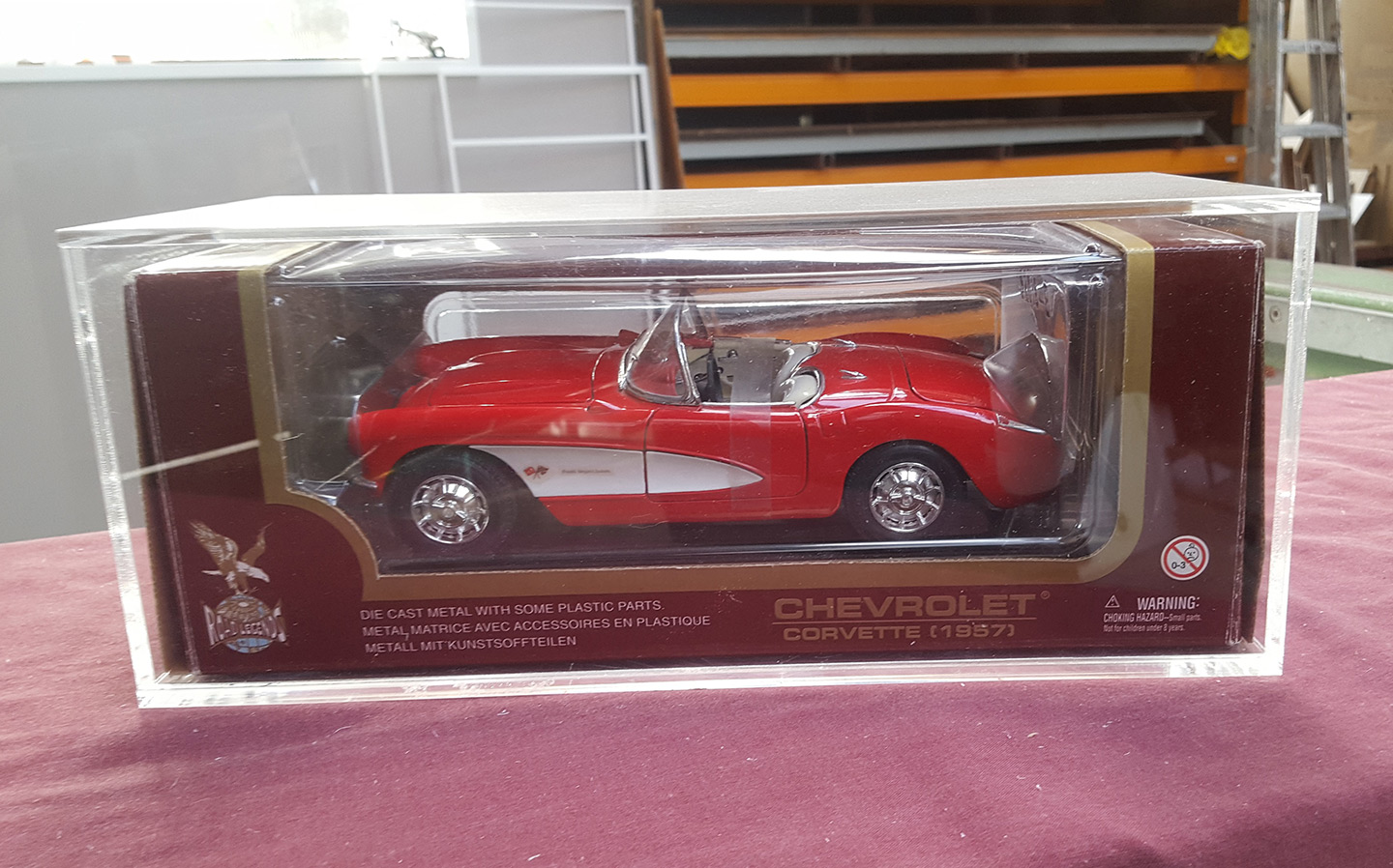 In Original Box Display Case