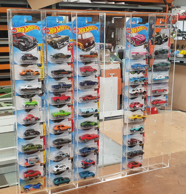 hot wheels and matchbox display case made in nz