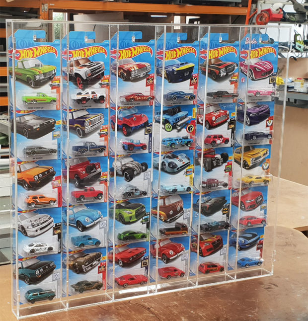 hot wheels and matchbox display case nz