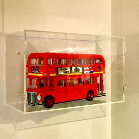 lego double decker bus display case nz